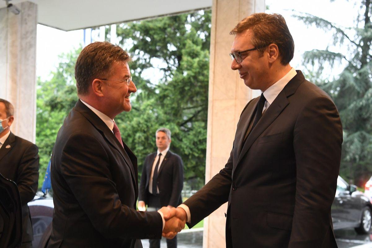 Sastanak sa specijalnim predstavnikom Evropske unije za dijalog Beograda i Prištine i druga regionalna pitanja Zapadnog Balkana
