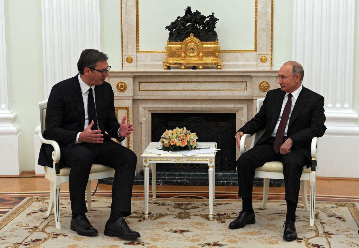 Predsednik Vučić sastao se u Moskvi sa predsednikom Ruske Federacije