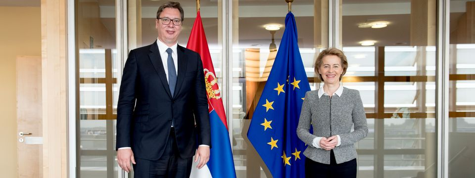 Predsednik Vučić u jednodnevnoj poseti Briselu