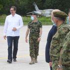 Председник Вучић присуствовао приказу нових беспилотних летелица Војске Србије
