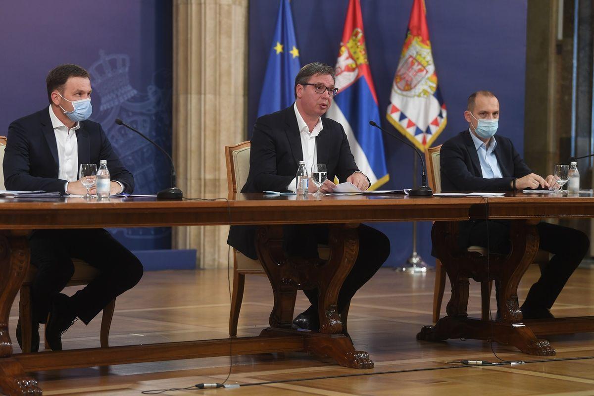 Obraćanje predsednika Republike Srbije 07.07.2020.