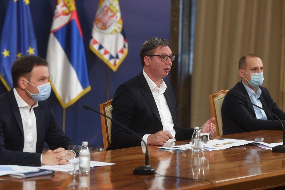 Обраћање председника Републике Србије 07.07.2020.
