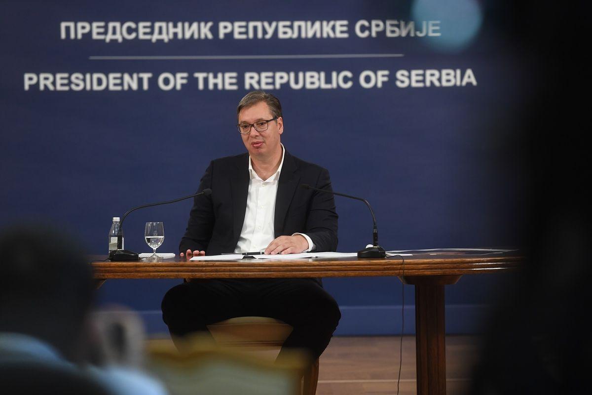 Обраћање председника Републике Србије 08.07.2020.