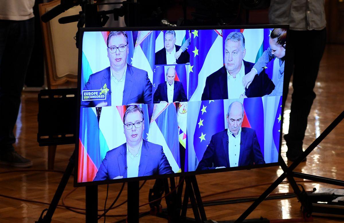 Predsednik Vučić učestvovao na video samitu