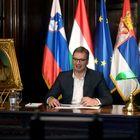 """Predsednik Vučić učestvovao na video samitu """"Evropa bez cenzure"""""""