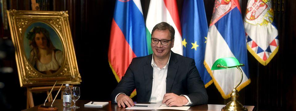 "Председник Вучић учествовао на видео самиту ""Европа без цензуре"""