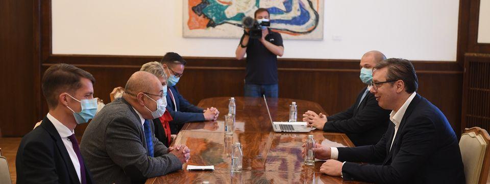 """Састанак са представницима изборне листе """"Савез војвођанских Мађара - Иштван Пастор"""""""