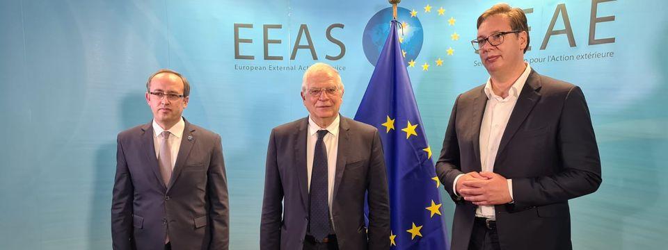 Predsednik Vučić u poseti Briselu