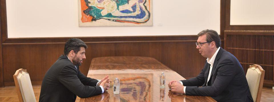 """Sastanak sa predstavnicima izborne liste """"Aleksandar Šapić – Pobeda za Srbiju"""""""