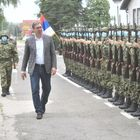 Председник Вучић обишао 15. тенковски батаљон Прве бригаде копнене војске