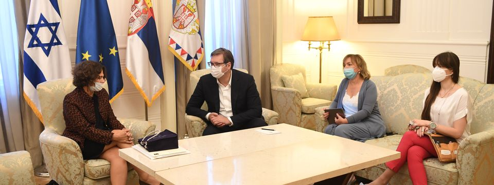 Опроштајна посета амбасадорке Државе Израел