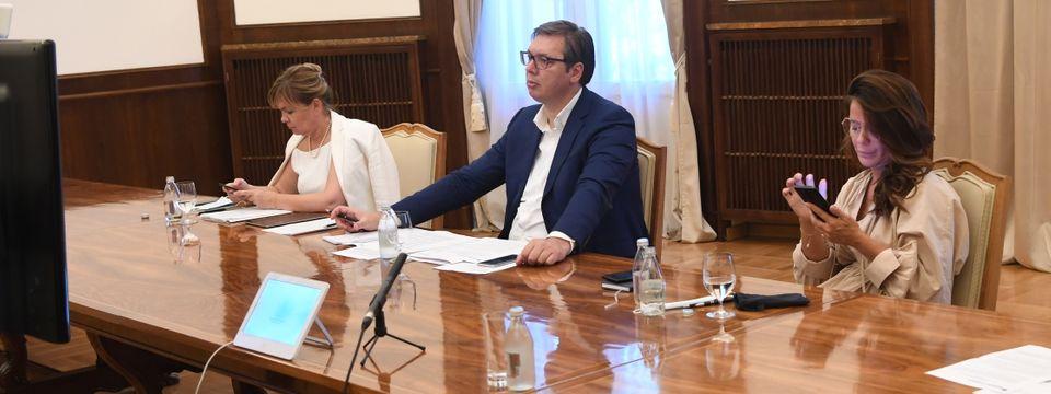 Видео самит за лидере Западнобалканске шесторке