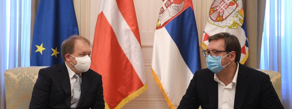 Опроштајна посета амбасадора Краљевине Данске