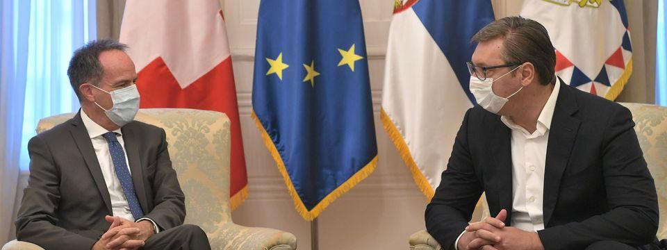 Опроштајна посета амбасадора Швајцарске