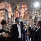 Председник Вучић обишао радове на унутрашњем уређењу Храма Светог Саве