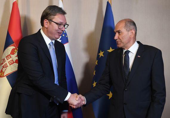 Председник Вучић у дводневној посети Републици Словенији