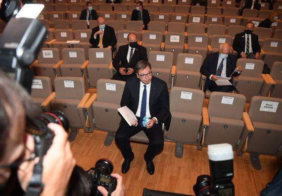 Председник Вучић на 15. Бледском стратешком форуму