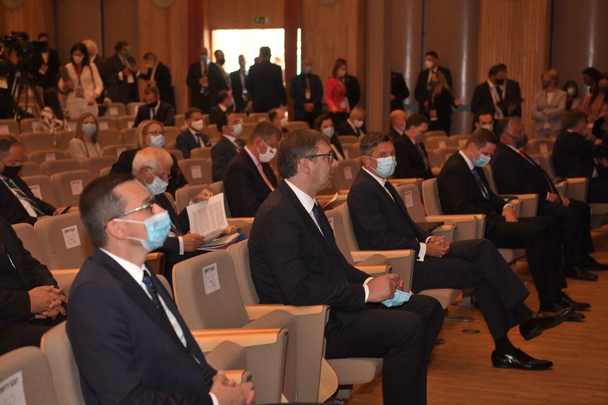 Predsednik Vučić na 15. Bledskom strateškom forumu