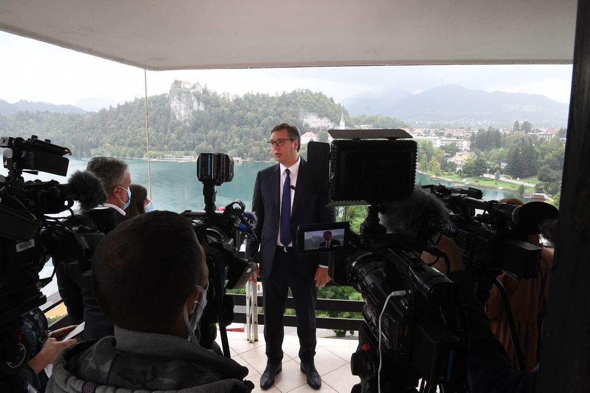 Predsednik Vučić u dvodnevnoj poseti Republici Sloveniji