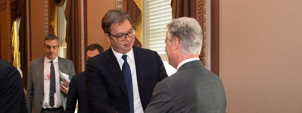 Председник Вучић у дводневној посети Сједињеним Америчким Државама