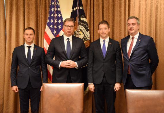 Споразум о нормализацији економских односа потписан у Вашингтону