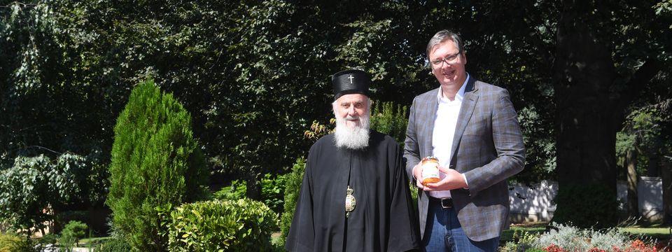 Sastanak sa Njegovom svetošću patrijarhom srpskim gospodinom Irinejom