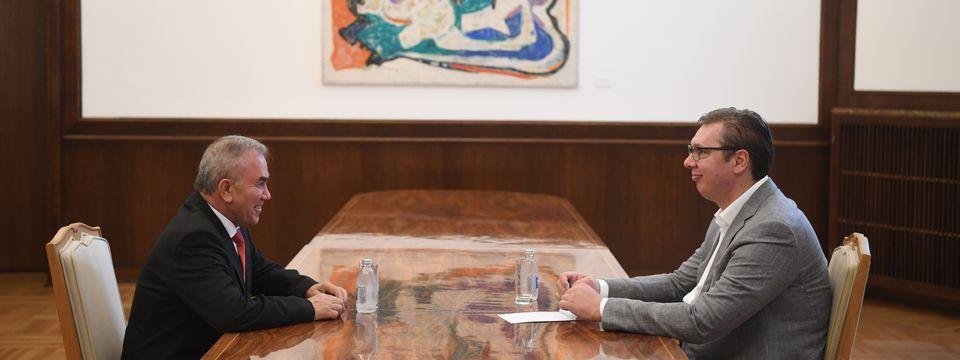 Sastanak sa ambasadorom Palestine