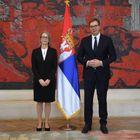 Predsednik Vučić primio akreditivna pisma novoimenovanog ambasadora Kraljevine Danske