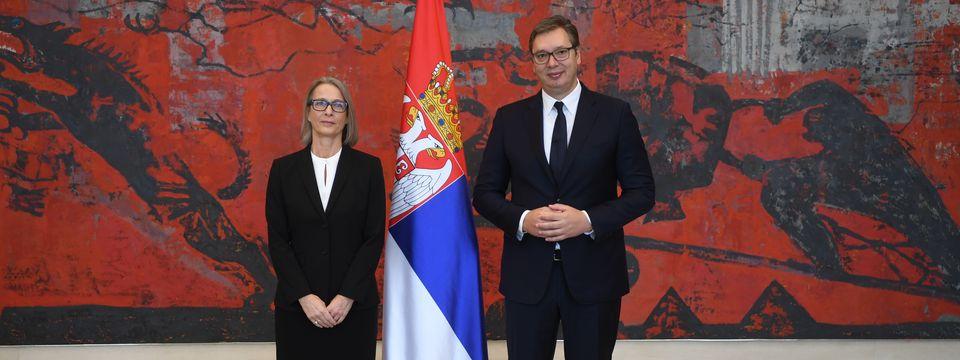 Председник Вучић примио акредитивна писма новоименованог амбасадора Краљевине Данске