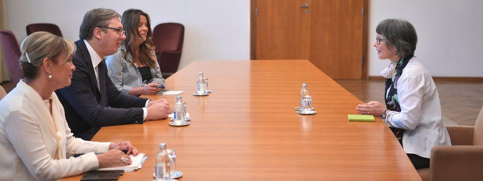 Sastanak sa ambasadorkom Ujedinjenog Kraljevstva