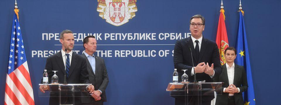Sastanak sa visokom delegacijom SAD