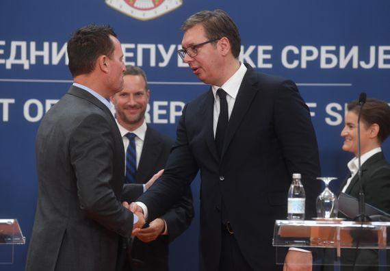 Састанак са високом делегацијом САД