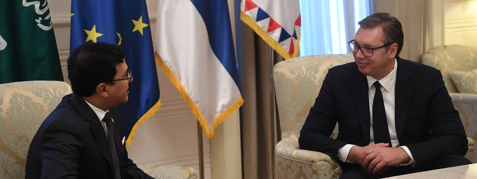 Опроштајна посета нерезидентног амбасадора Краљевине Саудијске Арабије