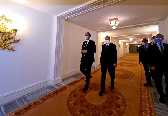 Председник Вучић на радном ручку са председником Републике Турске