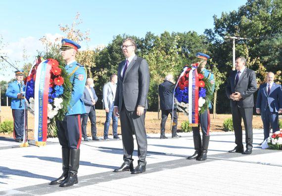 Председник Вучић присуствовао обележавању годишњице операције