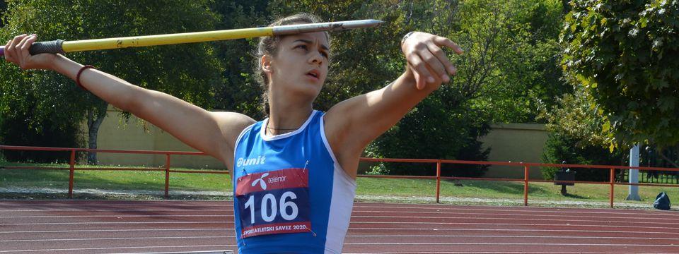 Кањижанка јуниорска краљица српске атлетике
