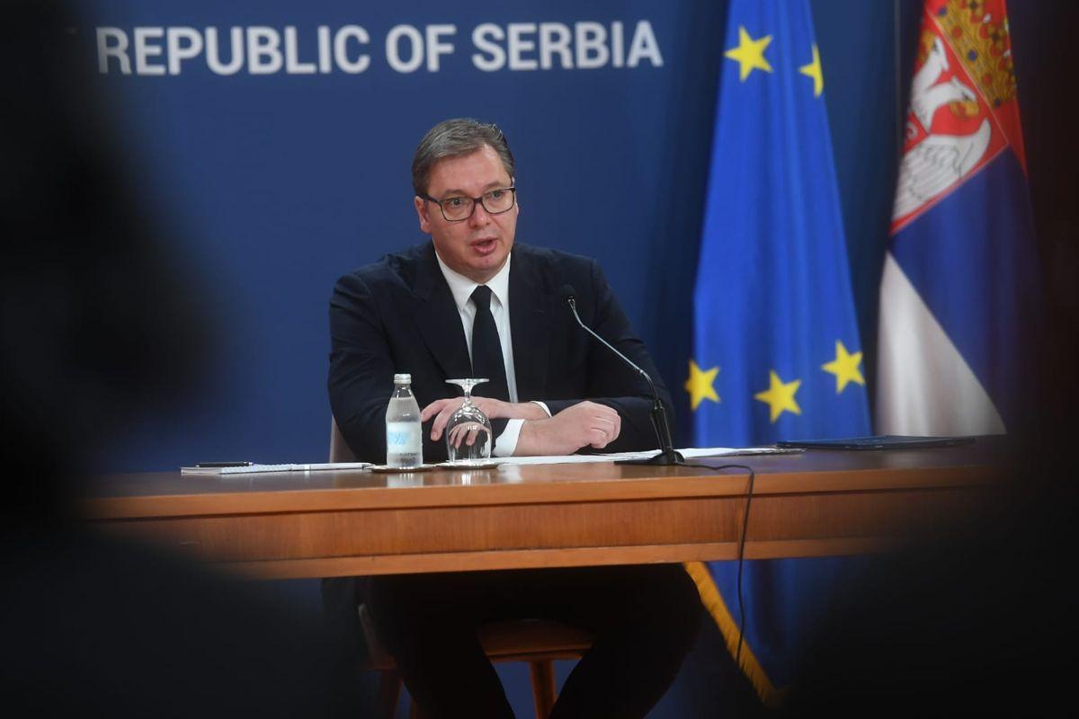 Обраћање председника Републике Србије