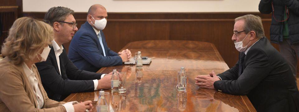 Састанак са амбасадором Републике Хрватске