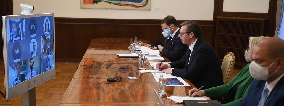 Разговор са шефом делегације Мисије Међународног монетарног фонда