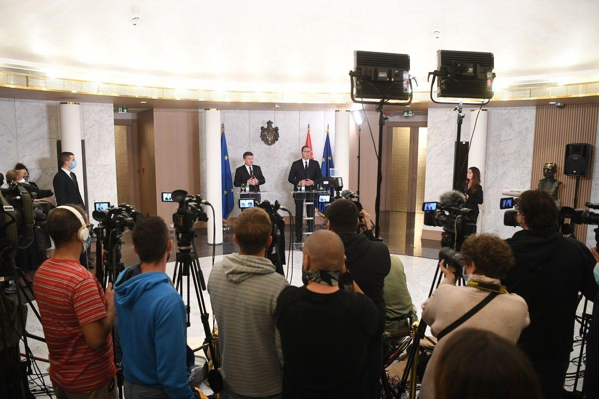 Састанак са специјалним представником ЕУ за дијалог Београда и Приштине и друга регионална питања Западног Балкана