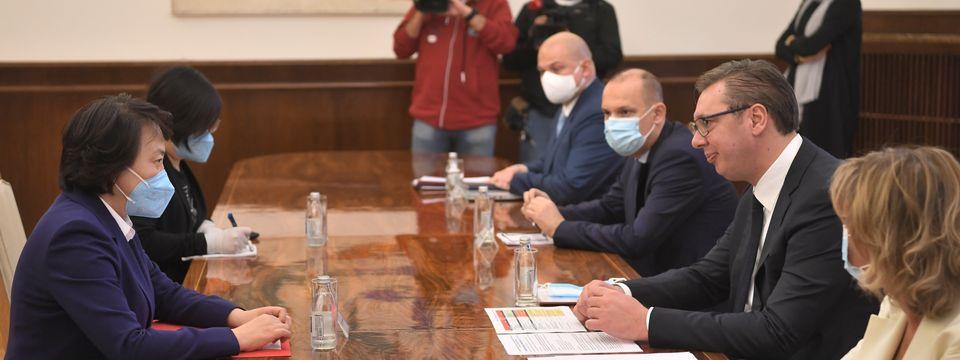 Sastanak sa ambasadorkom NR Kine