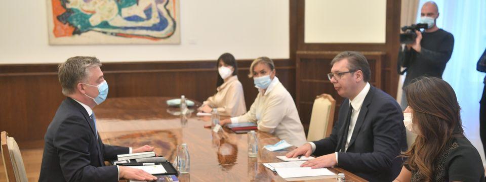 Састанак са шефом мисије Савета Европе