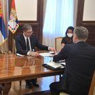 Sastanak sa šefom misije Saveta Evrope