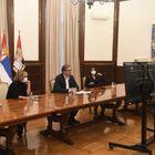 Председник Вучић присуствоваo церемонији отварања Париског форума о миру