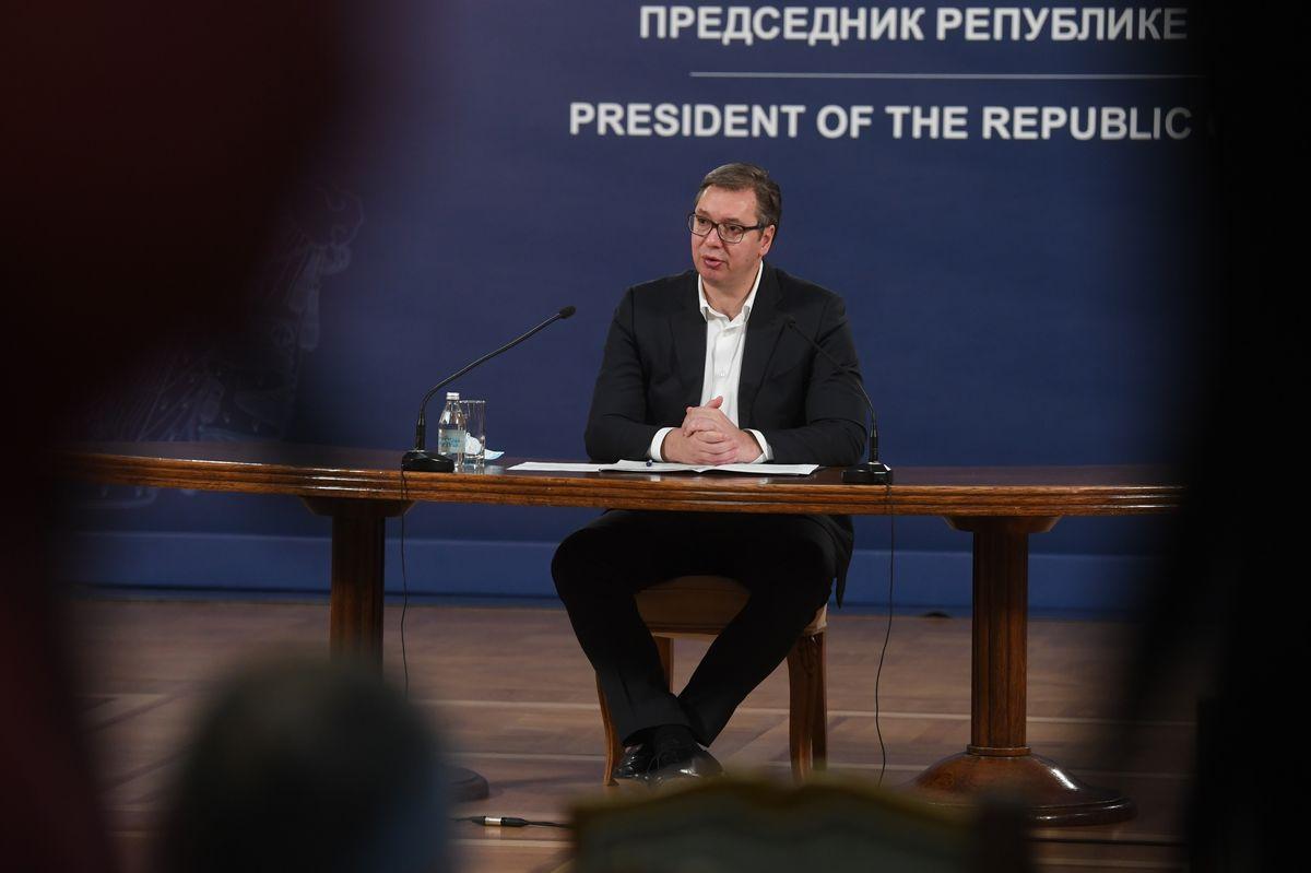 Обраћање председника Републике Србије 12.11.2020.