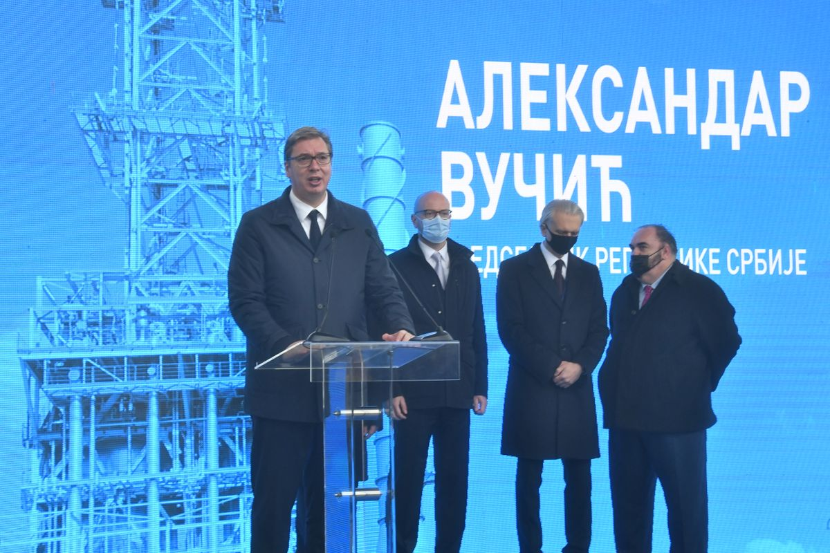 """Пуштено у рад ново постројење """"Дубока прерада"""" Рафинерије нафте Панчево"""