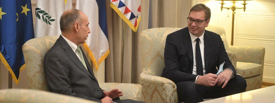 Опроштајна посета амбасадора Републике Кипар