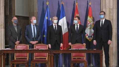 Састанак са министром Републике Француске за спољну трговину и економску промоцију