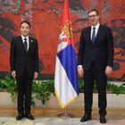 Predsednik Vučić primio akreditivna pisma novoimenovanog ambasadora Japana
