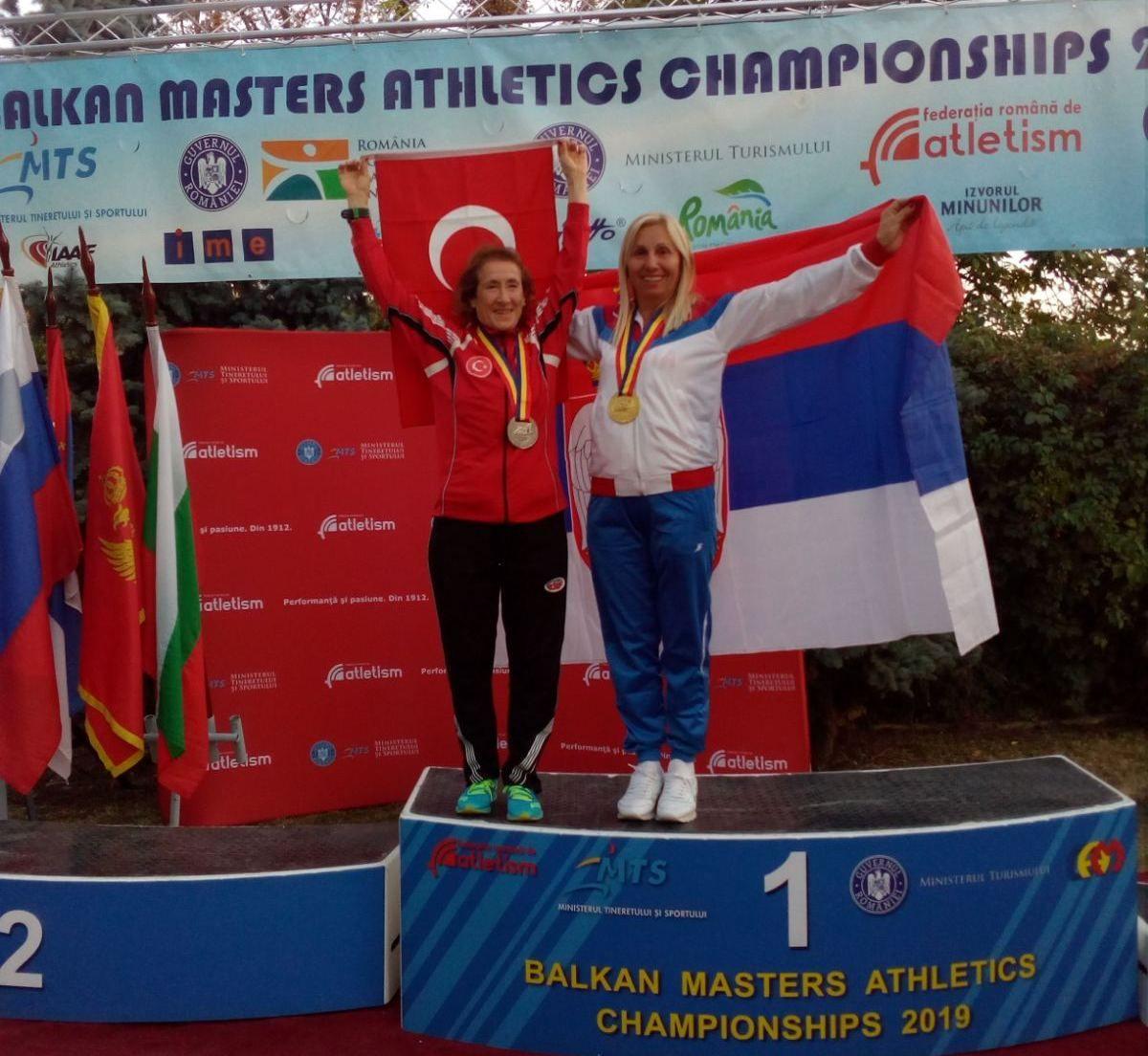 Најбржа ветеранка на Балкану